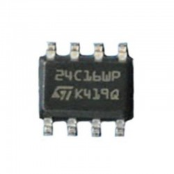 M24C16 EEPROM SERIALE SMD