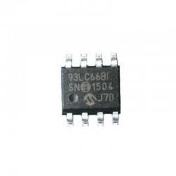 SERIAL EEPROM 93LC66B-I SN