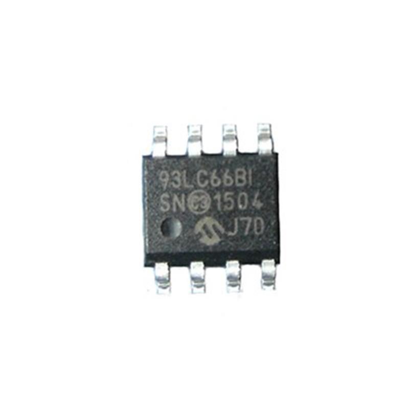 SERIAL EEPROM 93LC66B-I SN