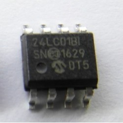 SERIAL EEPROM 24LC01B-I/SN