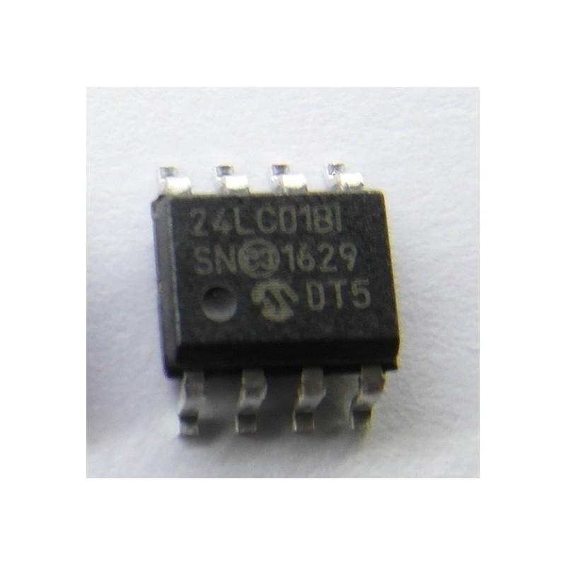 MEMORIA EEPROM 24LC01B-I/SN