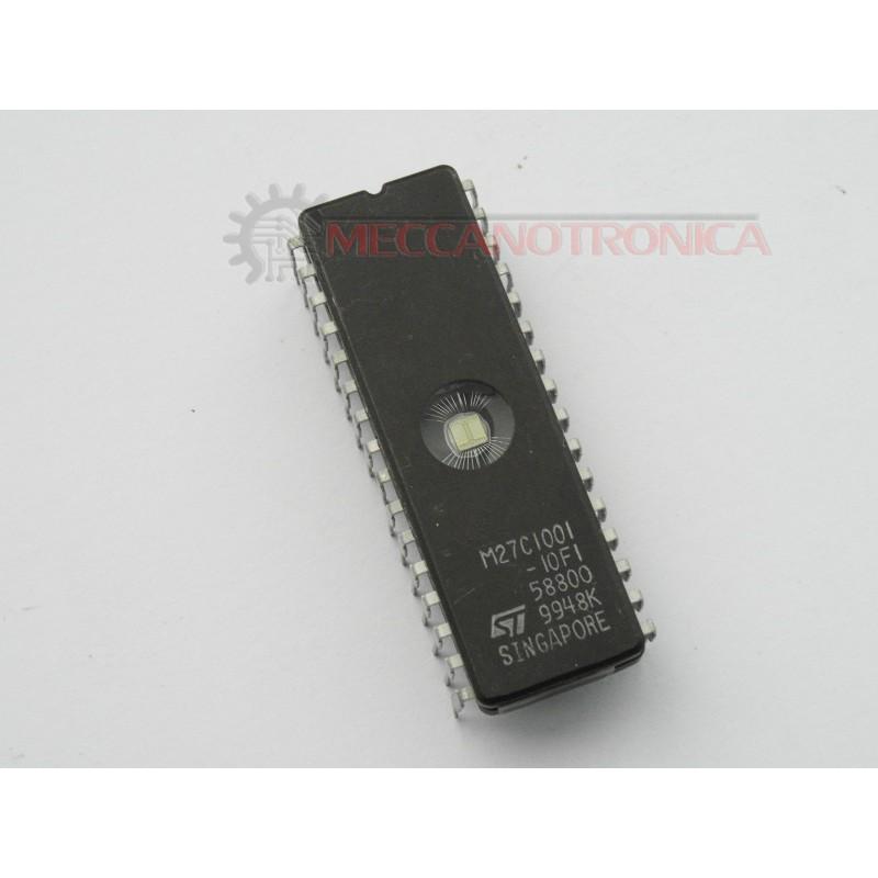 UV EPROM BRAND ST TYPE M27C1001-10F1